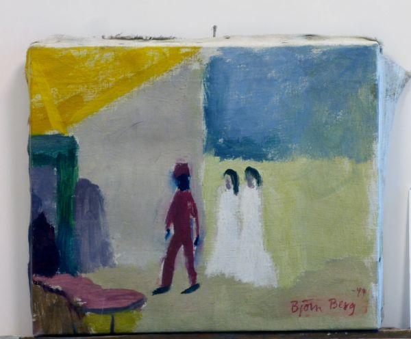 1948, Marocko, Oljemålning