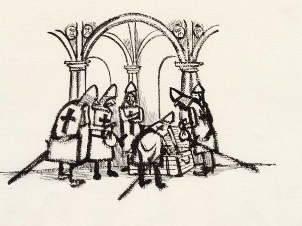 Skatt och korsriddare