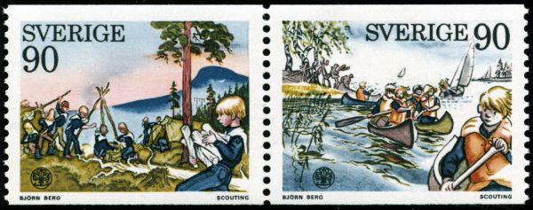 Scoutförbundet frimärke