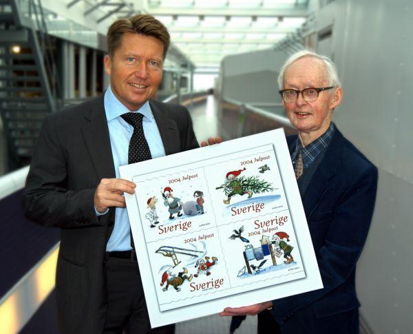 Julpost visas med generaldirektören