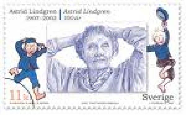 Astrid Lindgren i Tyskland och Sverige samtidigt