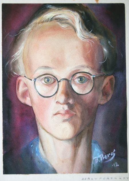 Självporträtt, 19 år