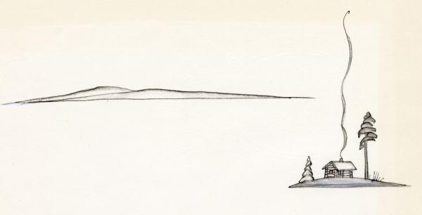 Kosta 1968 norrländsk vy