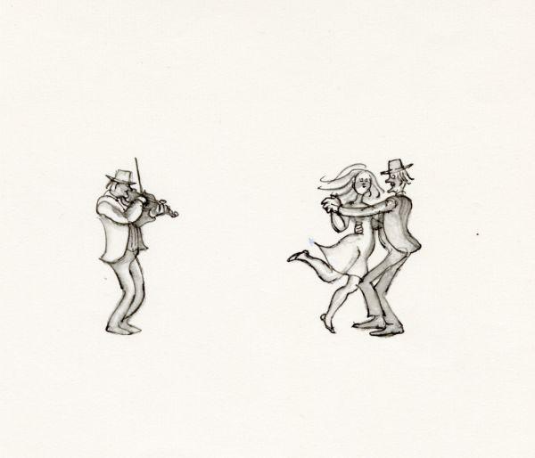 Kosta 1968, dans folkdans