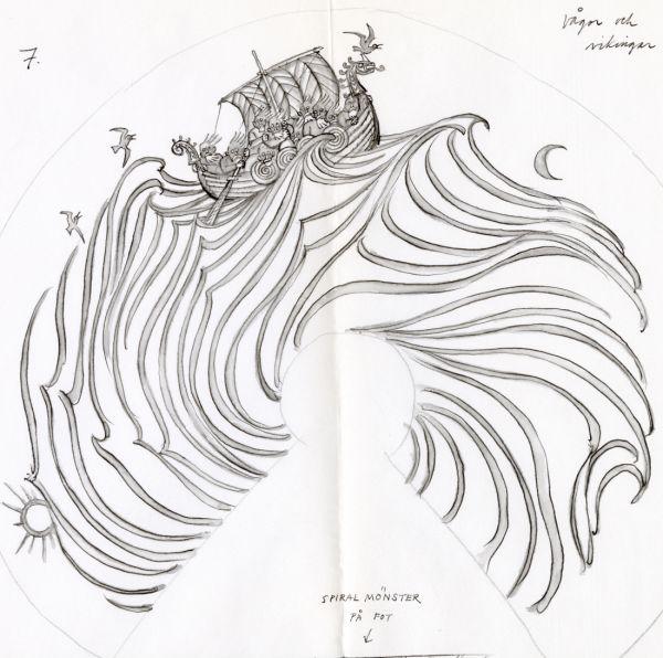 Kosta 1968, Vågor och vikingar