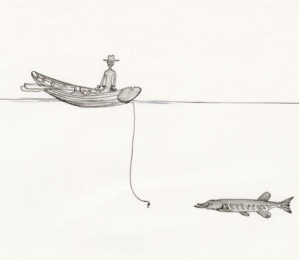 Kosta 1968 gäddfiske