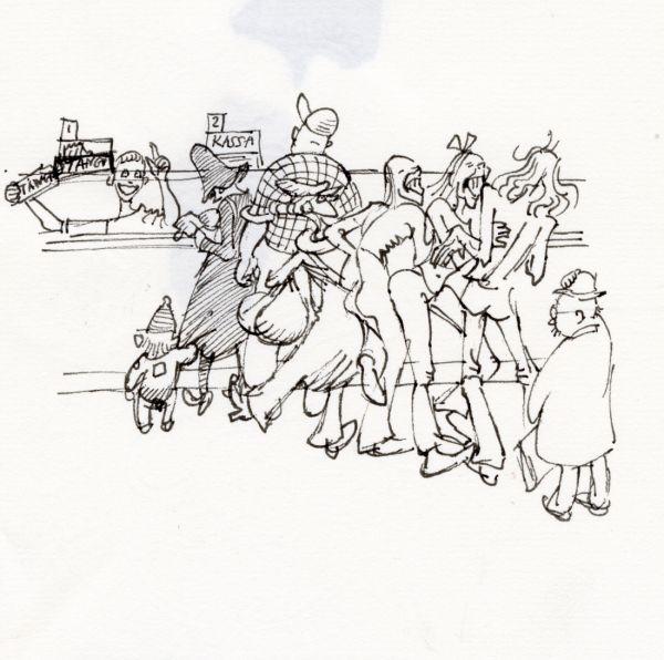 1978 trängsel vid snabbköpskassan s6k99