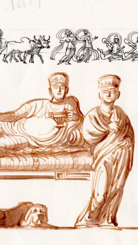 Palmyra ligger till bords