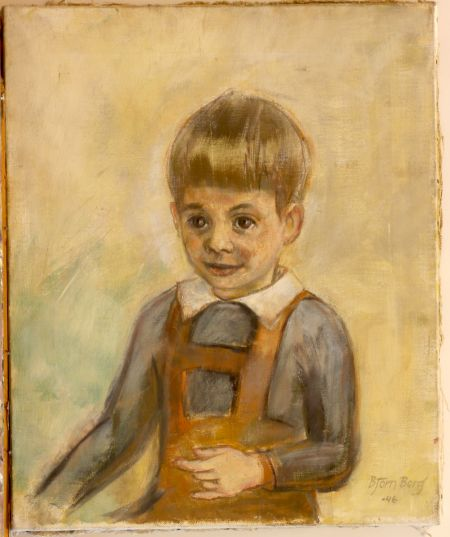 1946 S. Ekengren Pojkporträtt