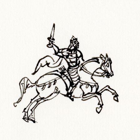 Byzans hästbilder galopp