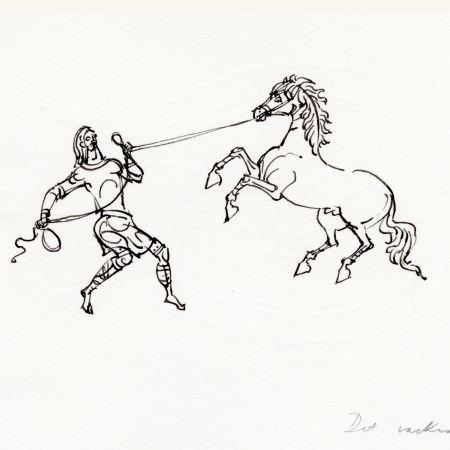Byzans hästbilder tämja