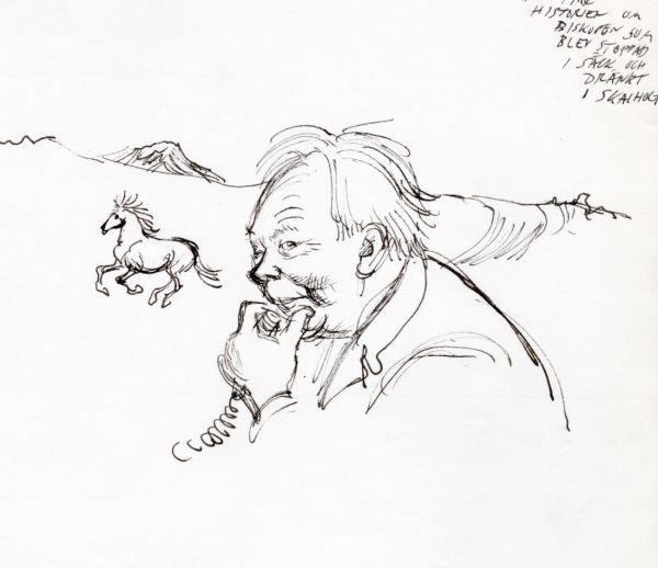 Alf H. 1980 Island 24 juli, i samband med boken Isländsk historia