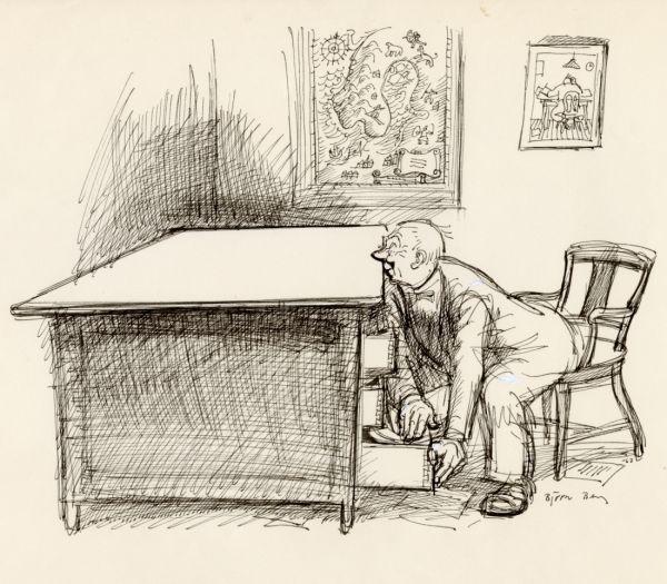 1963 Skrivbordet och Alf