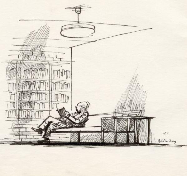 1965  28 maj biblioteket i Skövde