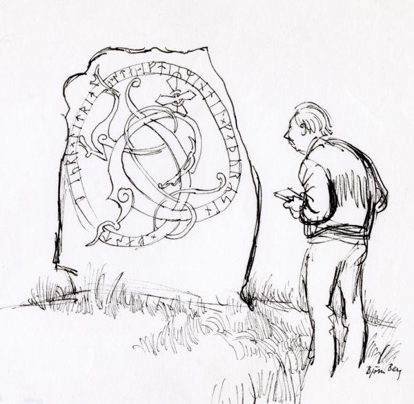 1977 aug Alf och Runsten Össebygarn