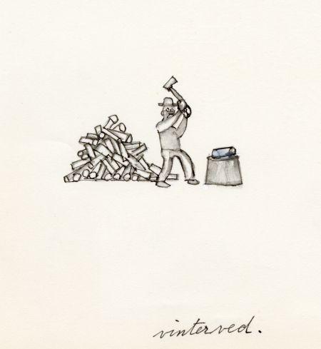 Kosta glasbruk 1968 skiss