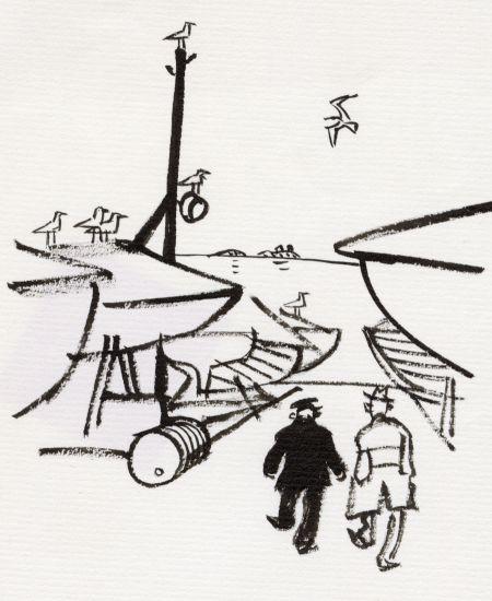 1962 DN ta upp båten