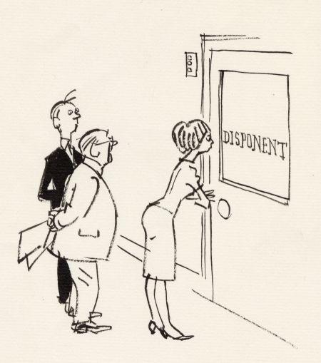 1962 DN disponentens dörr
