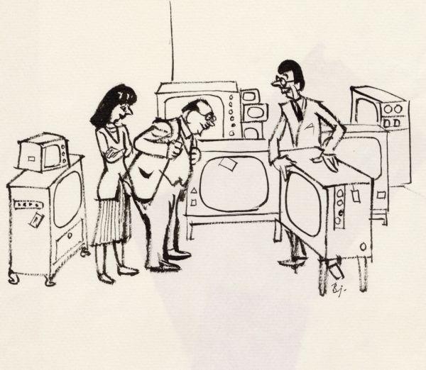 1962 DN televisionsapparat
