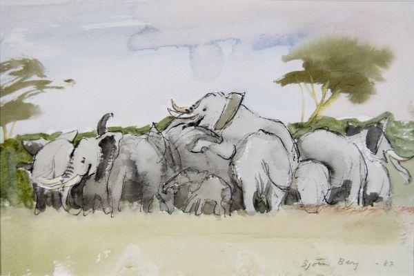 Elefantbröllop 1988