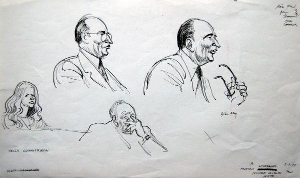 Mitterand, fransk President 1968