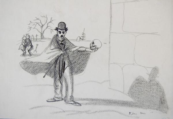 Charlie Chaplin i Hamlet