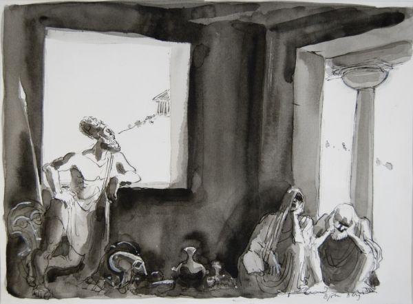 Perikles, filosofen i fönstret