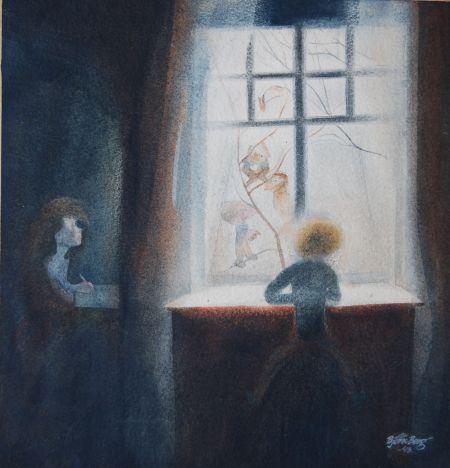 Barnet i fönstret