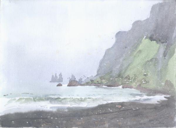 Island,Vik,1980 juli