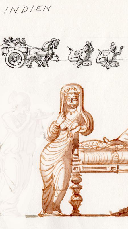 Palmyra, fotsid dräkt