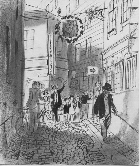 1943 Gamla Stan, Gyllene Freden