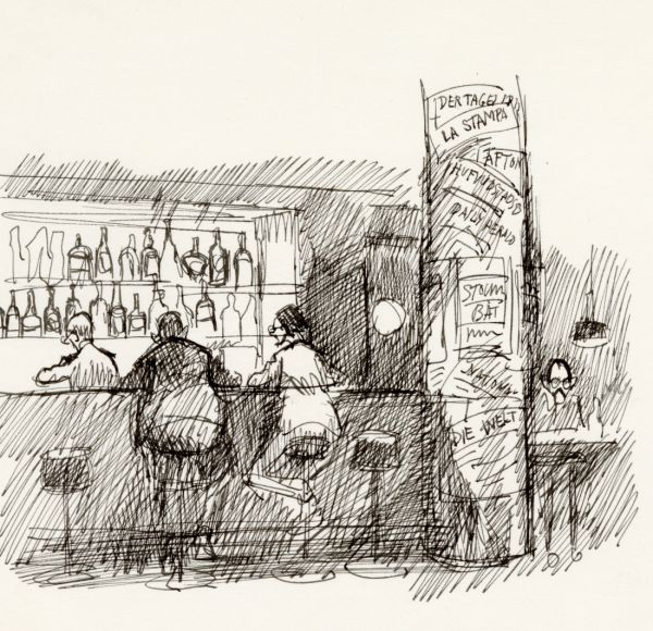 1965 W6 restaurang i Klara  baren